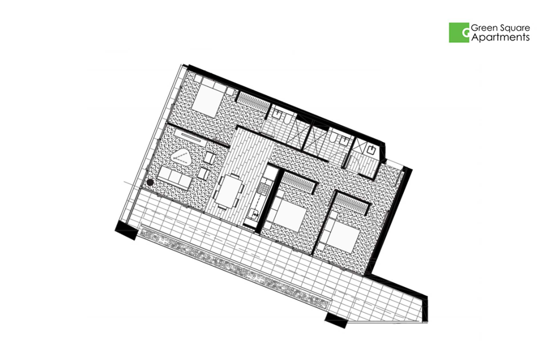 3 bedroom apartment for rent in infinity