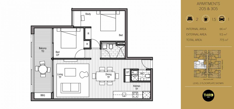 apartment rent green square kensington floorplan