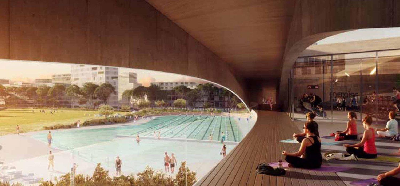 green square apartments aquatic centre